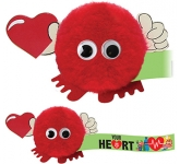 Heart Handholder Logo Bug  by Gopromotional - we get your brand noticed!