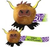 Highland Cow Logo Bug