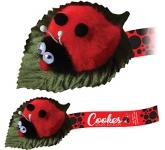 Leafy Ladybird Logo Bug