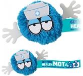 Nurse Mophead Character Logo Bug