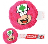 Nurse Mophead Card Face Logo Bug  by Gopromotional - we get your brand noticed!