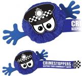 Policeman Mophead Character Logo Bug
