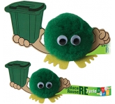 Recycling Bin Handholder Logo Bug  by Gopromotional - we get your brand noticed!