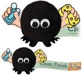 Soap and Sponge Handholder Logo Bug