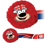 Union Jack Mophead Card Face Logo Bug  by Gopromotional - we get your brand noticed!