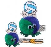 Volleyball Handholder Logo Bug