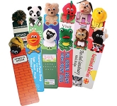 Animal Logo Bug Bookmark  by Gopromotional - we get your brand noticed!