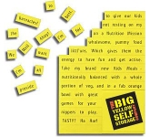 A6 Magnetic Word Game  by Gopromotional - we get your brand noticed!