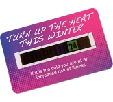 Credit Card Temperature Gauge Card