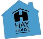 House Shaped Acrylic Fridge Magnet  by Gopromotional - we get your brand noticed!