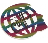 Large 2D Custom Shaped Acrylic Fridge Magnet  by Gopromotional - we get your brand noticed!