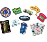 Midi Custom Shaped Ultra Thin Fridge Magnet  by Gopromotional - we get your brand noticed!