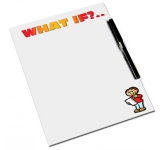 A4 Magnetic PVC Memo Board  by Gopromotional - we get your brand noticed!