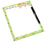 A5 Magnetic Steel Paper Memo Board  by Gopromotional - we get your brand noticed!