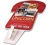 Telephone Memo  Clip Magnet  by Gopromotional - we get your brand noticed!