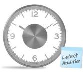 Venus Metal Desk Clock  by Gopromotional - we get your brand noticed!
