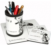 Mouse Mat DeskSet  by Gopromotional - we get your brand noticed!