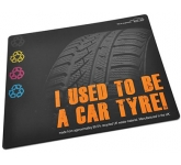 Recycled Tyre Brite Mat  by Gopromotional - we get your brand noticed!