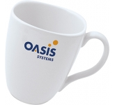 Quadra Promotional Mug  by Gopromotional - we get your brand noticed!