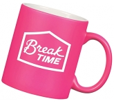 Durham Neon ColourCoat Mug  by Gopromotional - we get your brand noticed!