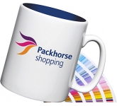Durham Inner Printed Pantone Mug  by Gopromotional - we get your brand noticed!