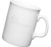 Atlantic Etched Mugs - White