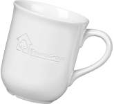 Bell Etched Mugs - White