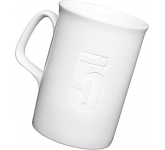 Opal Etched China Mug  by Gopromotional - we get your brand noticed!
