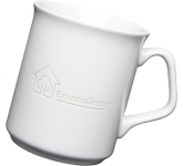 Sparta Etched Mugs - White