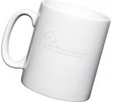 Durham Etched Mugs - White