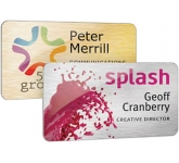 Full Colour Metal Name Badge  by Gopromotional - we get your brand noticed!