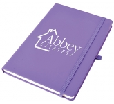 Phantom A5 Soft Feel Notebook  by Gopromotional - we get your brand noticed!