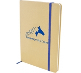 Malibu A5 Natural Recycled Notebook  by Gopromotional - we get your brand noticed!