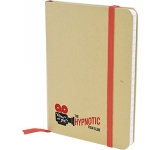 Malibu A6 Natural Recycled Notebook  by Gopromotional - we get your brand noticed!