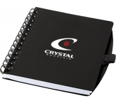 A6 Salvador Spiral Bound Notebook  by Gopromotional - we get your brand noticed!