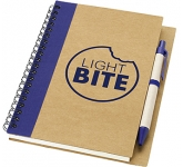 Sherwood A5 Recycled Notebooks & Pen  by Gopromotional - we get your brand noticed!