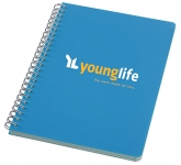 A5 Smile Spiral Bound Notebook  by Gopromotional - we get your brand noticed!