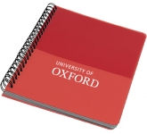 A5 Colour Block Notebook  by Gopromotional - we get your brand noticed!