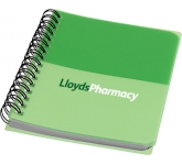 A6 Colour Block Notebook  by Gopromotional - we get your brand noticed!