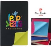 Pierre Cardin Fashion A5 Soft Feel Notebook  by Gopromotional - we get your brand noticed!