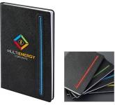 Denim A5 Black Notebook