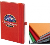 Denim A5 Colour Notebook  by Gopromotional - we get your brand noticed!