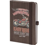 Bemaraha A5 Wood Tone Notebook  by Gopromotional - we get your brand noticed!