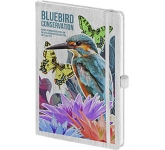 Nature Colour A5 Soft Feel Notebook  by Gopromotional - we get your brand noticed!