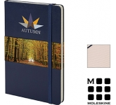 Moleskine Classic A5 Hardback Notebooks - Lined Page  by Gopromotional - we get your brand noticed!