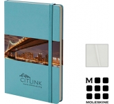 Moleskine Classic A5 Hardback Notebooks - Plain Page  by Gopromotional - we get your brand noticed!
