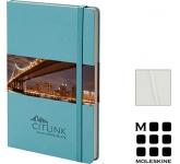 Moleskine Classic A5 Hardback Notebooks - Plain Page