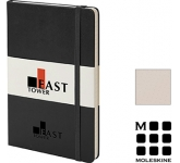 Moleskine Classic A5 Hardback Notebooks - Dotted Page  by Gopromotional - we get your brand noticed!