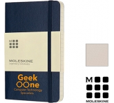 Moleskine Classic A5 Soft Feel Notebooks - Dotted Page  by Gopromotional - we get your brand noticed!