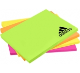 125 x 75mm Bright Sticky Note  by Gopromotional - we get your brand noticed!